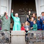 Kuningatar Margareeta pysyi prinssi Henrikin rinnalla loppuun saakka.