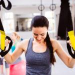 TRX-nauhat ovat kätevä apu kehonpainoharjoitteluun.