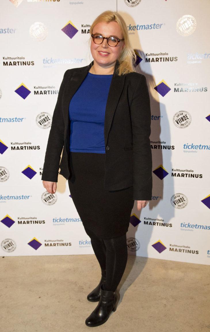 """Lotta Onttonen näytteli vuosina 1994–1995 Blondi tuli taloon -sarjassa """"Missu"""" Hurmalaa."""