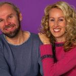 Jussi Parviainen ja Satu Ruotsalainen vuonna 2001, kun kaikki oli vielä hyvin.