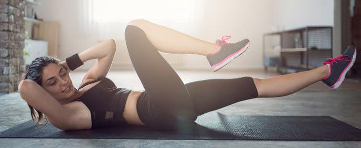 Juoksijan lihaskunto: vatsarutistus kierrolla