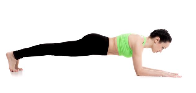 Juoksijan lihaskunto: lankku