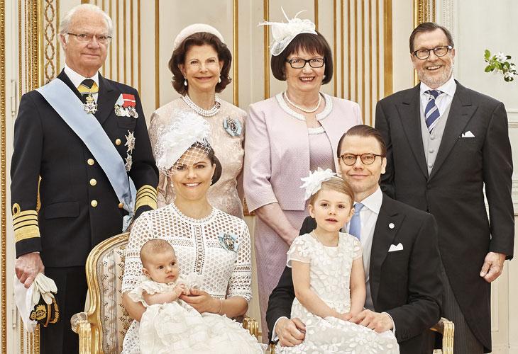 Danielin vanhemmat: Ewa ja Olle Westling