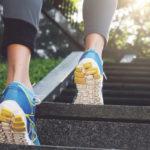Valitsemalla portaat aina, kun se on mahdollista, lisäät arkiaktiivisuuttasi ja edistät terveyttäsi.
