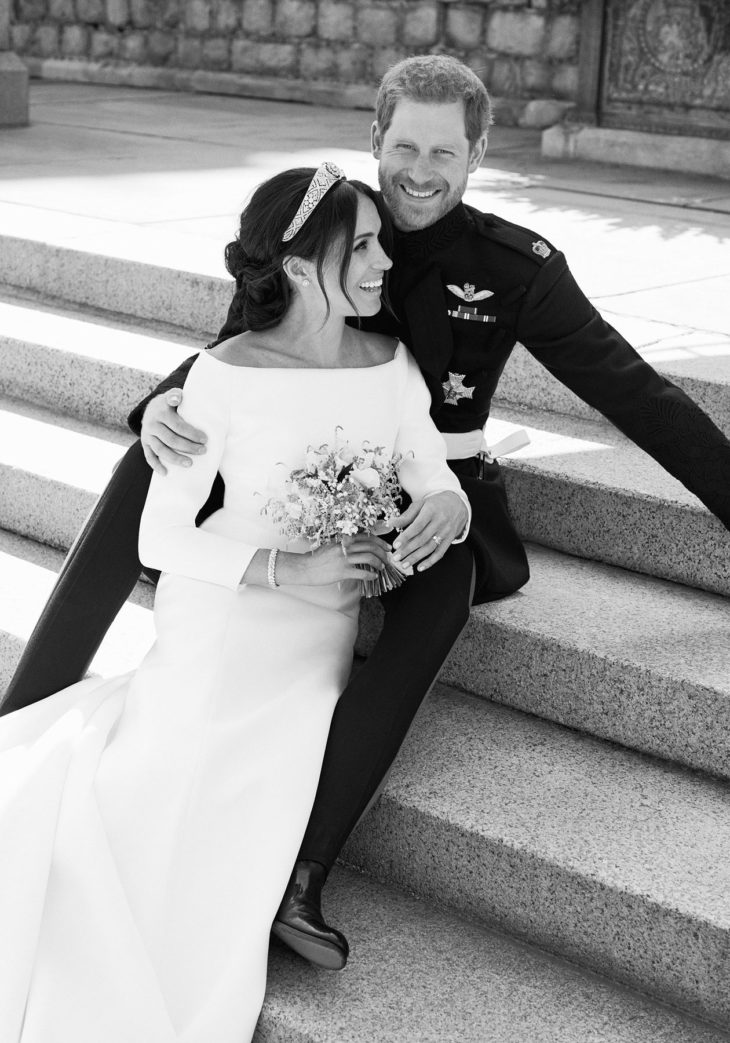 Harryn ja Meghanin virallinen hääkuva