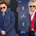 Näyttelijä-muusikko Johnny Depp osoitti Hollywood Vampires -yhtyeensä konsertissa kunnioittavansa muusikko Michael Monroeta.