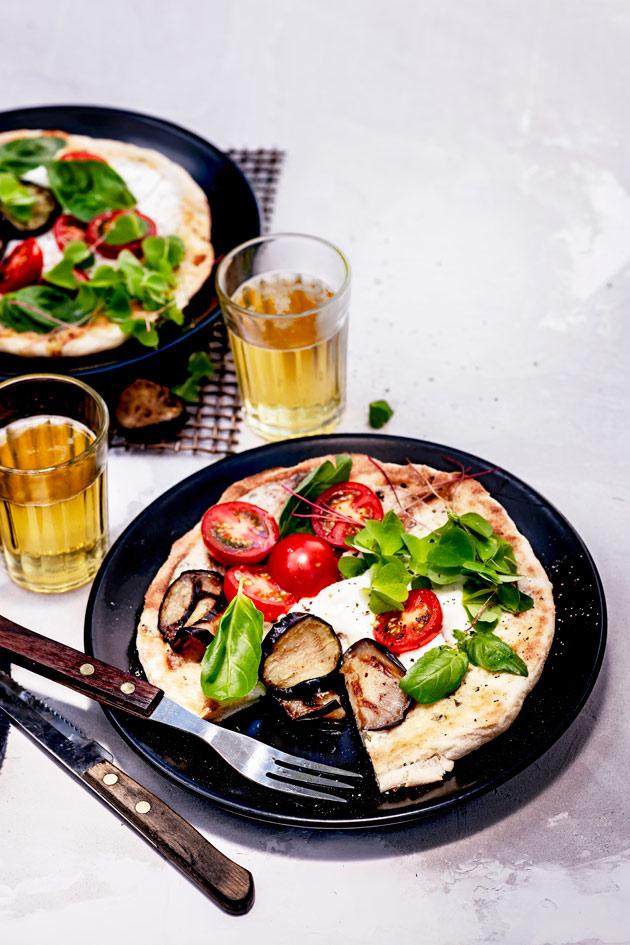 valkoinen grillipizza -ohje