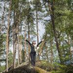 Metsässä oleskelu ja siellä kävely tuo mukanaan monia terveysvaikutuksia.
