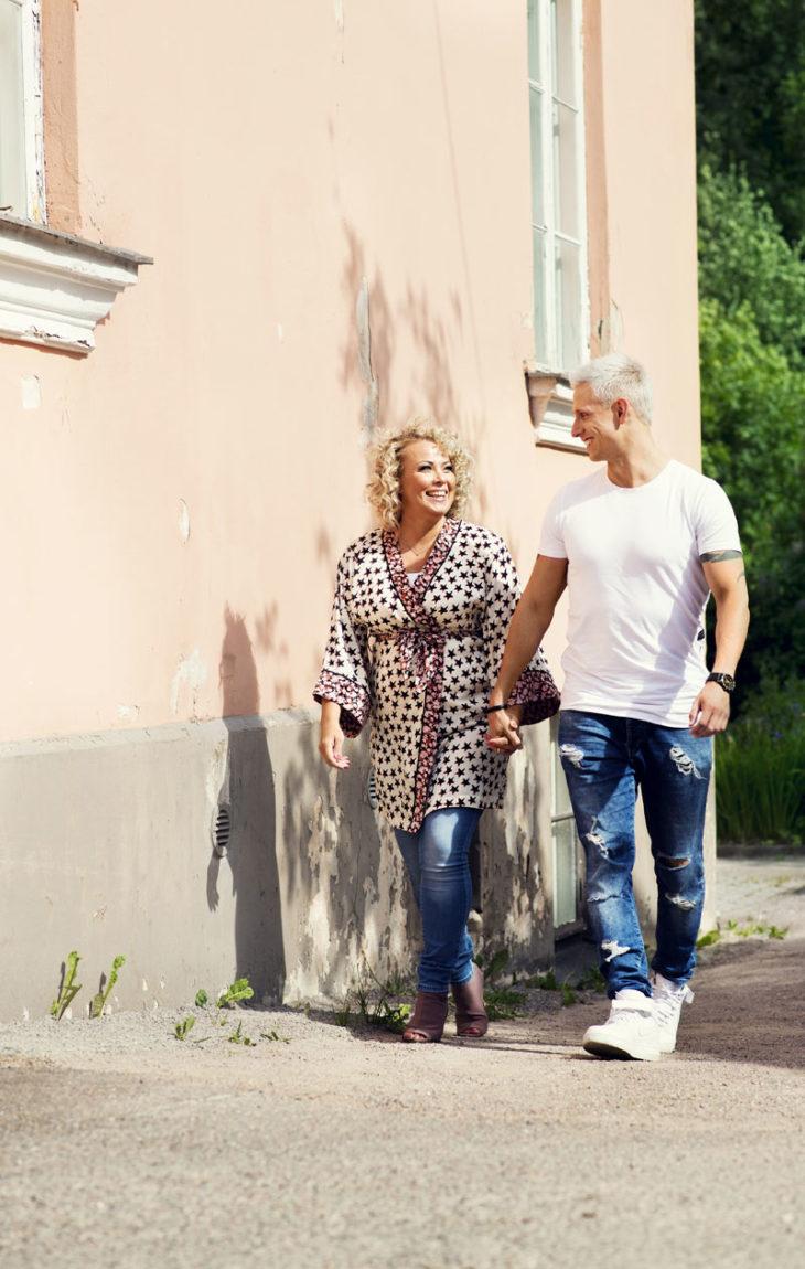 Johanna Pakonen ja Antti Lehto