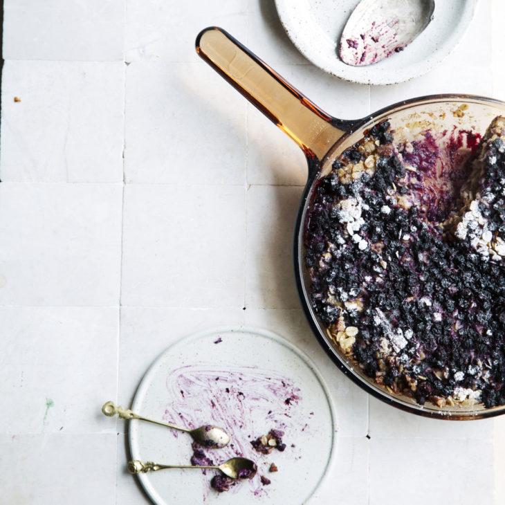 Mustikka-kaurahyve resepti