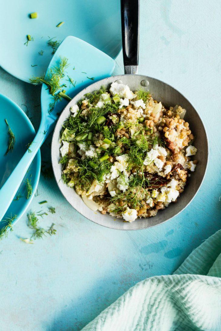 Kvinoa-fenkolirisotto fodmap
