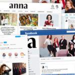 Anna-lehti on läsnä netissä ja somessa.