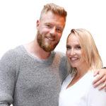 Juha Rouvinen ja Jutta Gustafsberg menivät naimisiin kesällä.