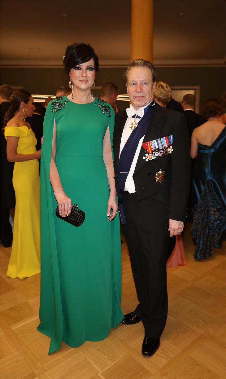 Elina Kiikko ja Ilkka Kanerva