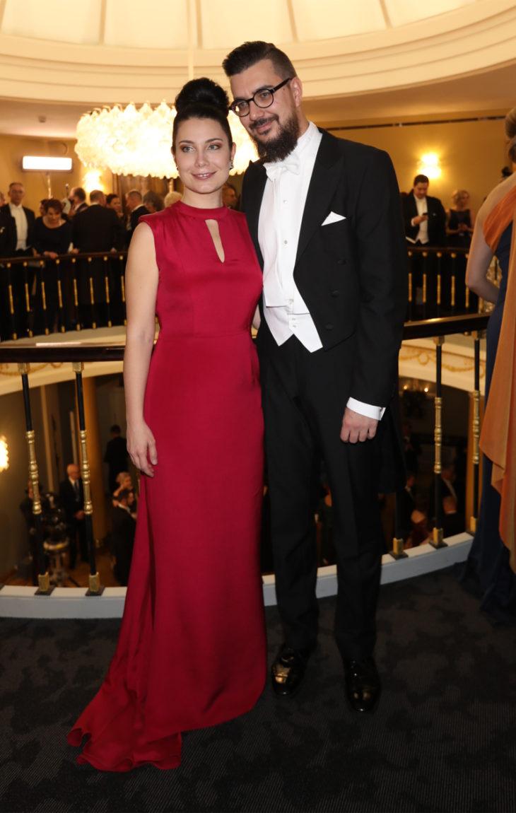 Emma Kari ja puoliso Tapio Laakso.