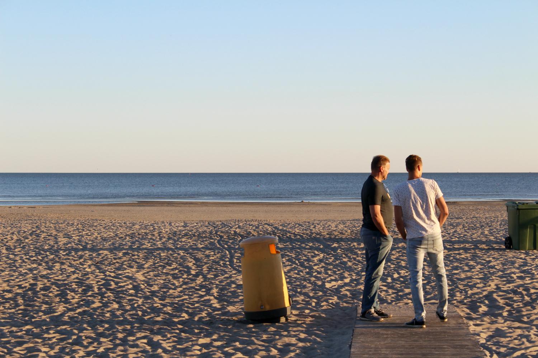 Pitkästä aikaa Pärnun rannalla